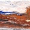 Orange Felsenlandschaft